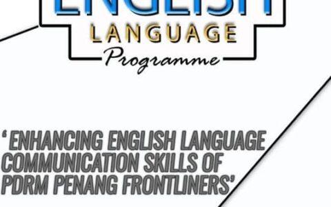 TI Penang Outreach: Kelas Komunikasi Bahasa Inggeris Dalam Talian untuk Barisan Hadapan PDRM Pulau Pinang